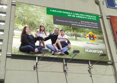 Painel Colégio Magnum Buritis